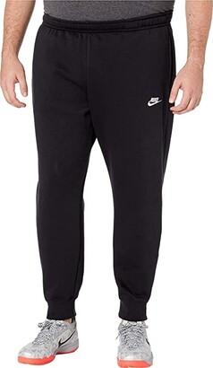 Nike Big Tall NSW Club Jogger (Black/Black/White) Men's Casual Pants