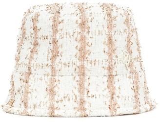 Maison Michel Exclusive to Mytheresa Axel tweed bucket hat