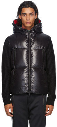 Moncler Black Down Quilted Vest