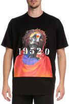 Givenchy Shroud of Turin Graphic Short-Sleeve T-Shirt, Black