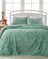 Victoria Classics Allison Sage Tufted 3-Pc. Queen Bedspread Set