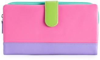 Women's ili RFID Blocking Leather Bifold Wallet