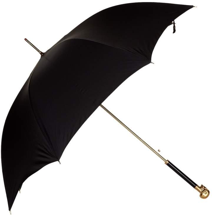 Alexander McQueen Total Gold Skull Handle Umbrella
