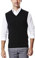 Haggar Diamond Textured Sweater Vest