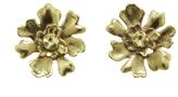 Annette Ferdinandsen Small Lichen Stud Earrings - Gold