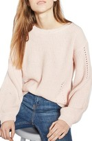 Topshop Women's Open Back Sweater