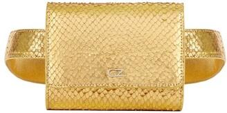 Giuseppe Zanotti Seraphine metallic belt bag