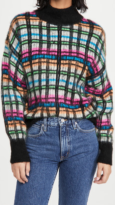 Essentiel Antwerp Brushed Tartan Pullover