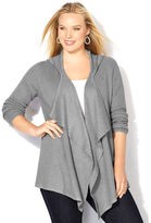 Avenue Thermal Hooded Cardigan