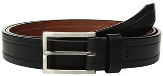 Trafalgar XL Wesley (Black) Men's Belts