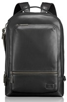 Tumi Men's 'Harrison - Bates' Leather Backpack - Black