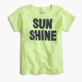 "J.Crew Girls' ""sunshine"" T-shirt"