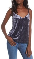 Love, Fire Women's Crushed Velvet Camisole