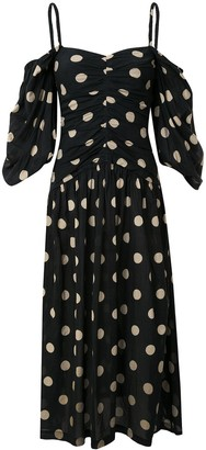 Bec & Bridge Josephine polka dot midi dress