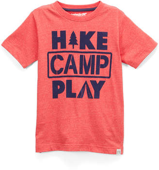 Avalanche Boys' Tee Shirts FRESNO - Fresno Red Heather 'Hike Camp Play' Crewneck Tee - Boys