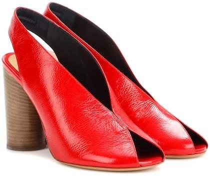 Isabel Marant Meirid patent leather sandals