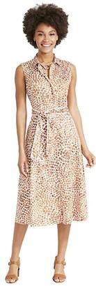 Nic+Zoe Copper Kiss Shirtdress (Copper Multi) Women's Clothing