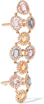 Amrapali Blossom 18-karat Gold, Sapphire And Diamond Ring - 6