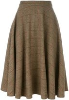 Societe Anonyme herringbone 'Boy' skirt - women - Wool/Alpaca - 40