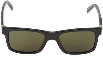 Montblanc MB646S-F 54MM Square Sunglasses