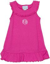 Princess Linens Hot Pink Yolk Dress - Infant Toddler & Girls