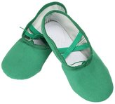 Aivtalk Womens Toddler Little Kid Canvas Soft Ballet Dancing Yoga Shoes Slippers