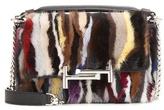 Tod's Mink Fur Shoulder Bag