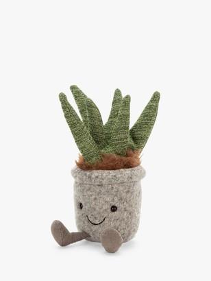 Jellycat Silly Succulent Aloe Soft Toy, Medium