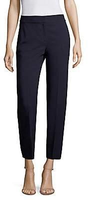St. John Women's Classic Cady Stretch Crop Trousers