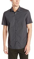 Calvin Klein Men's Short-Sleeve Woven Shirt