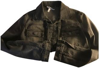 Current/Elliott Current Elliott Grey Cotton Leather jackets