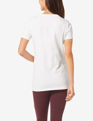 Tommy John Women's Second Skin Graphic Tee, Ballsy Small Logo