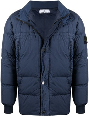 Stone Island High Neck Puffer Jacket