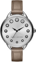 Marc Jacobs Women's Betty Cement Leather Strap Watch 36mm MJ1476