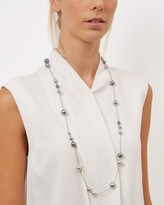 Jaeger Sophia Long Pearl Necklace