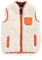 Splendid Boy's Reversible Faux Shearling Vest