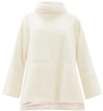 Roksanda Jodi Roll-neck Alpaca-blend Sweater - Ivory