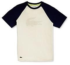 Lacoste Boys' Croc Baseball Tee - Little Kid, Big Kid