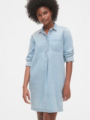 Gap Denim Popover Dress
