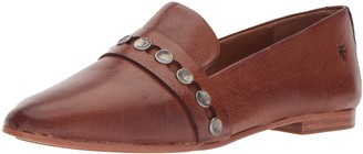 Frye Women's Terri Hammered Stud Loafer Flat