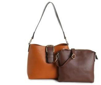 Kelly & Katie Colorblock Convertible Shoulder Bag