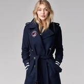 Tommy Hilfiger Long Military Wool Coat Gigi Hadid