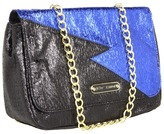 Betsey Johnson Lightning Strikes Flap Over (Blue) - Bags and Luggage