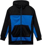 Volcom Blue and Black Fleece Baselayer