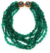 Kenneth Jay Lane Multi Strand Beaded Necklace