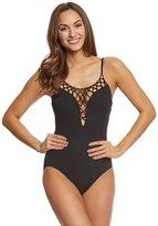 Gottex Black Diamond Tank One Piece Swimsuit 8158677