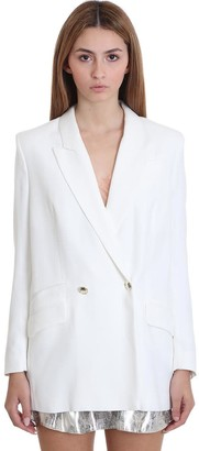 IRO Adelie Blazer In White Viscose