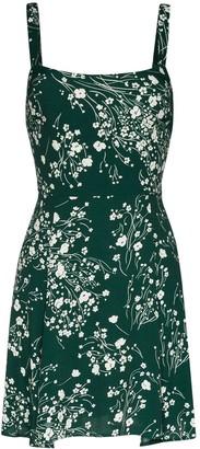 Reformation Tempest floral-print dress