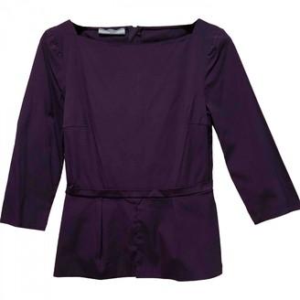 Prada Purple Cotton Top for Women