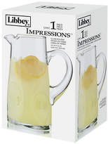 Libbey Embossed Impressions Pitcher